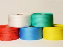 Coloured Woven Polyester Strapping